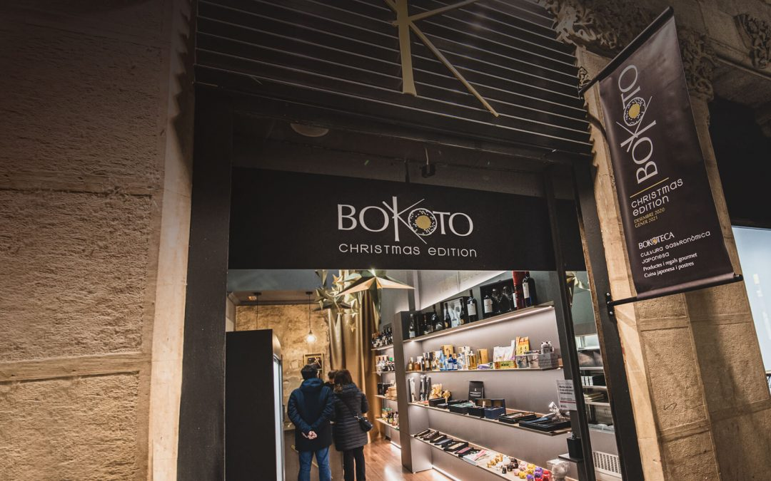 Bokoto Christmas Edition, la nueva tienda de cocina japonesa en Lleida